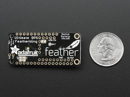 Adafruit ultimate gps featherwing 4434133421