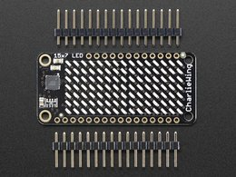 Adafruit 15x7 charlieplex led matrix dis 9506521674