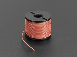Silicone Cover Stranded-Core Wire - 50ft 30AWG Red