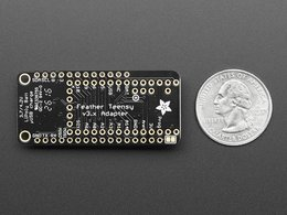 Teensy 3 dot x feather adapter 5344507185