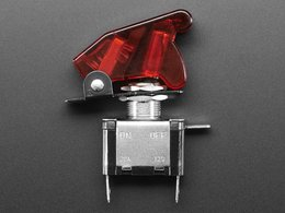 Illuminated toggle switch with cover r 1482649949