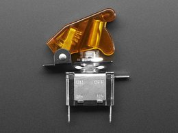 Illuminated toggle switch with cover y 5600174143
