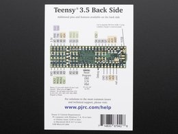 Teensy 3 dot 5 without headers 874544747
