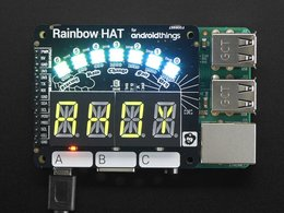 Pimoroni rainbow hat for android things 188297274