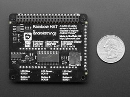 Pimoroni rainbow hat for android things 4888225056