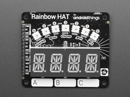 Pimoroni rainbow hat for android things 2257474322