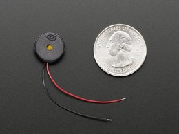 Small enclosed piezo w slash wires 5446657010