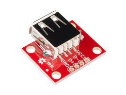 Sparkfun usb type a female breakout 8621085680