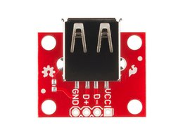 Sparkfun usb type a female breakout 3533056343