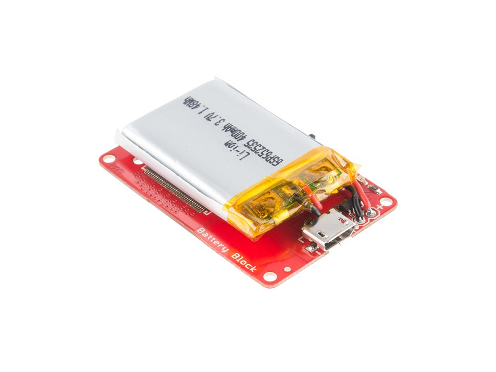 Sparkfun block for intel r edison batte 1998476331