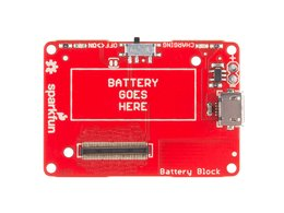 Sparkfun block for intel r edison batte 508891177