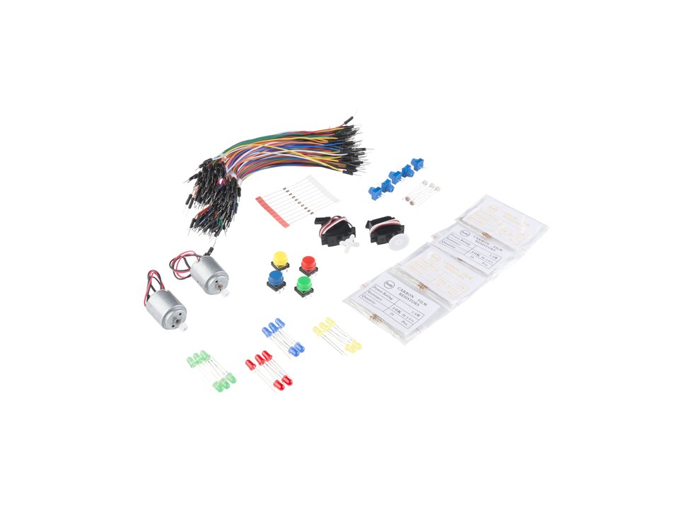 Sparkfun inventors kit parts refill pac 4319690285