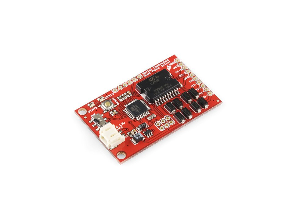 Sparkfun serial controlled motor driver 9031036526