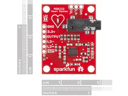 Sparkfun single lead heart rate monitor 6585404966