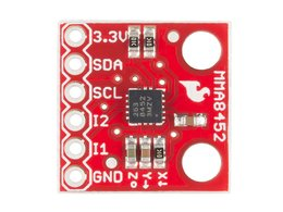 Sparkfun triple axis accelerometer break 4885175479
