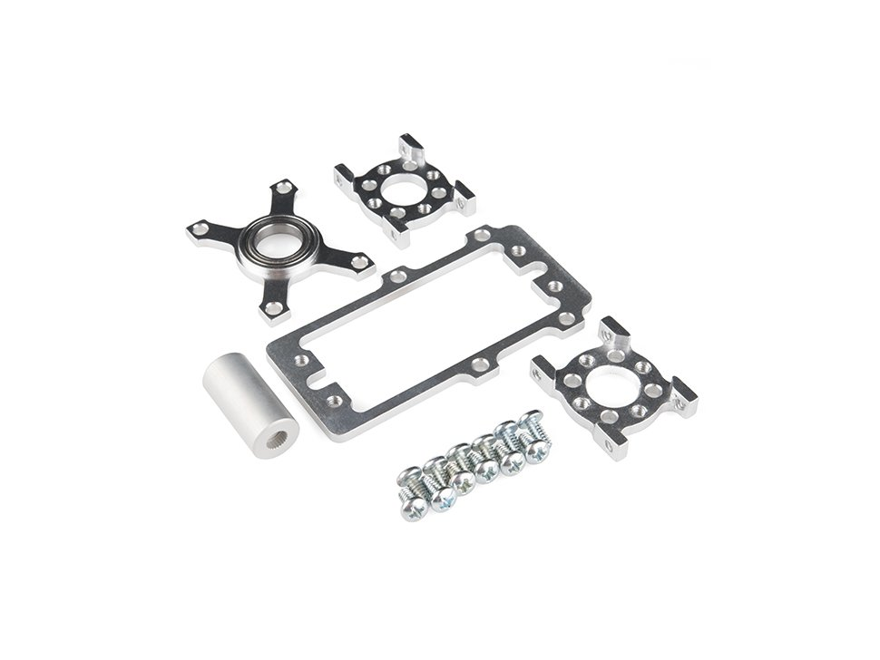 Servoblock kit hitec 1 slash 4 scale plain 1197910885