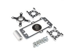 Servoblock kit hitec 1 slash 4 scale plain 4991317344