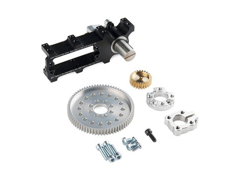 Channel Mount Gearbox Kit - Standard Rotation (7:1 Ratio)