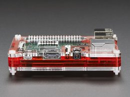 Pibow coupe enclosure for raspberry pi 7824983380