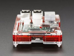 Pibow coupe enclosure for raspberry pi 6405133016