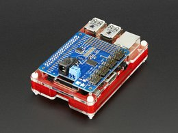Pibow coupe enclosure for raspberry pi 2080100245