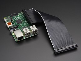 Gpio ribbon cable for raspberry pi number 2